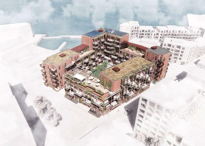Køge Kyst bæredygtige boliger