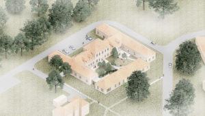 Psykiatrisk Hospital Oringe - Oluf Jørgensen