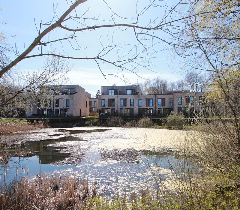 Anlægsarbejde: LAR, Lokal afledning af regnvand, Vedbæk Park, Oluf Jørgensen