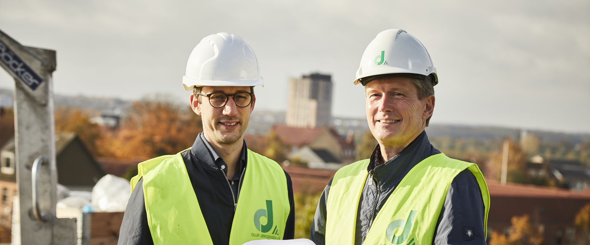 Oluf Jørgensen, Ingeniørfaglig rådgivning i hele landet
