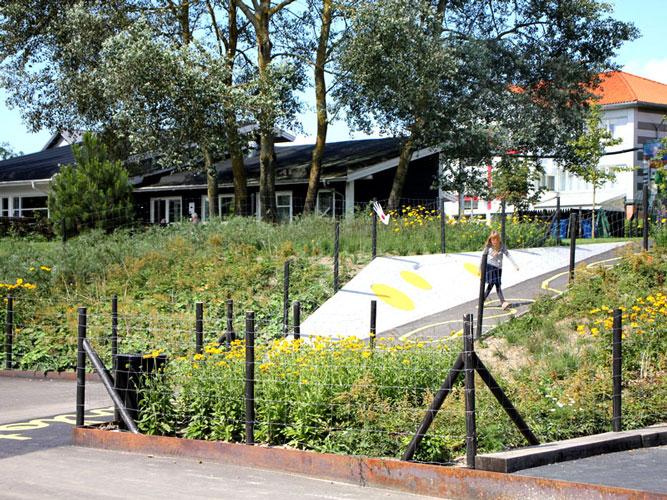 Råderum i Charlottekvarteret, anlægsarbejde, Oluf Jørgensen