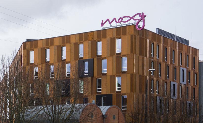 Anlægsarbejde, Brandrådgivning, konstruktioner, Moxy Copenhagen, Oluf Jørgensen