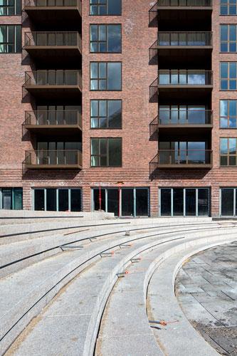 Købke Hus, Carlsbergbyen, Anlægsarbejde, almene boliger, Oluf Jørgensen