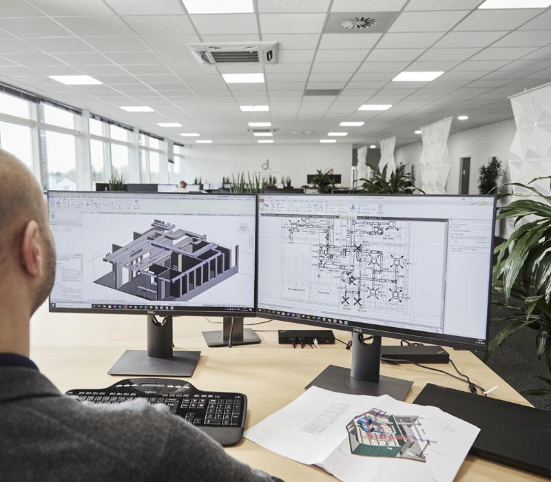 Digitalt byggeri i Oluf Jørgensen