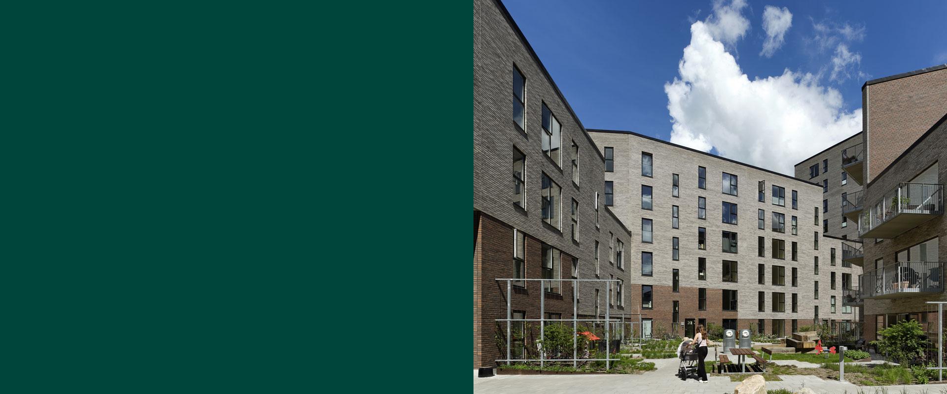 Anlægsarbejde, konstruktioner, VVS-ventilation, fagtilsyn, Købmandsgården og Porthuset, Oluf Jørgensen