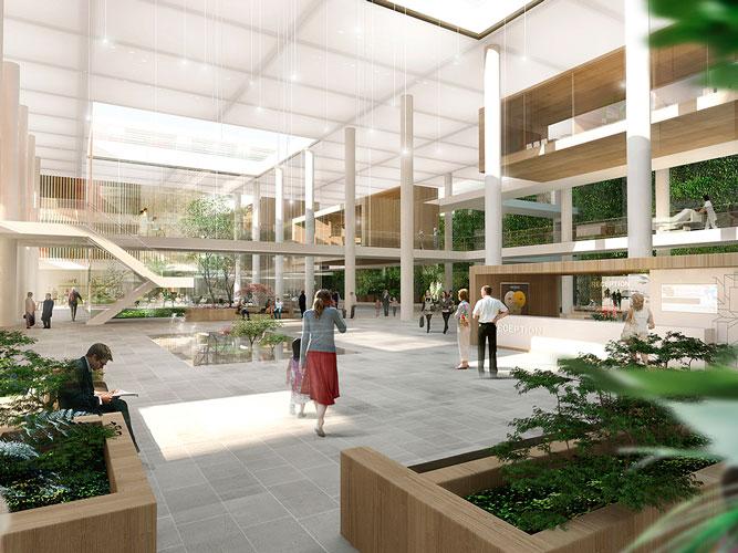 Nyt Aalborg Universitetshospital, NAU, Oluf Jørgensen, Reference, Sundhed