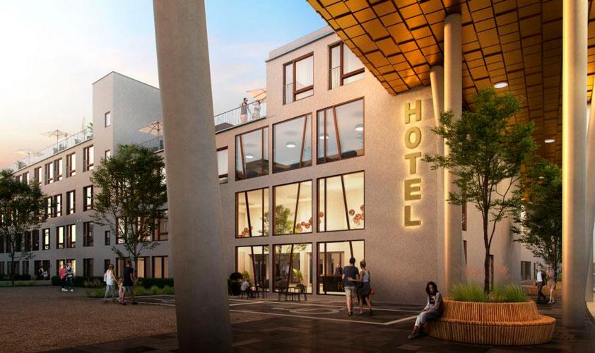 Reference Oluf Jørgensen, 5-øren, hotel, erhverv, boliger