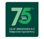 75 års logo