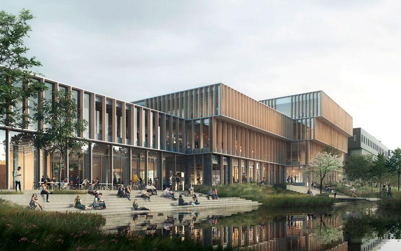 AAU Science and Innovation Hub, Oluf Jørgensen rådgivende ingeniør