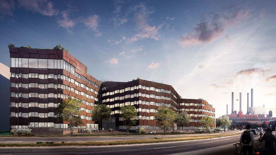 CPH Highline, bæredygtigt byggeri, Oluf Jørgensen A/S, kontor, erhverv