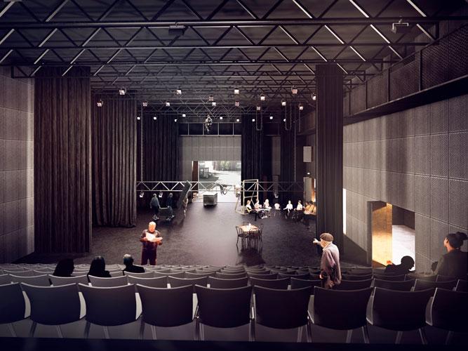 Odsherred Teater, kultur, renovering, reference Oluf Jørgensen
