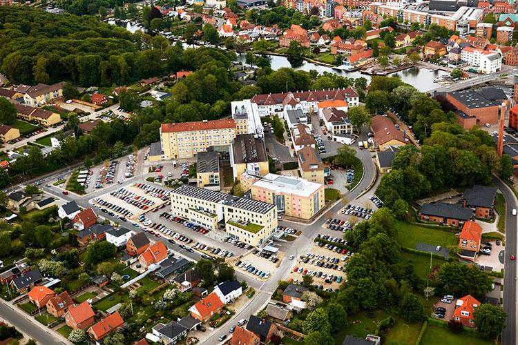 Regionshospitalet Silkeborg, sundhed, reference, Oluf Jørgensen A/S