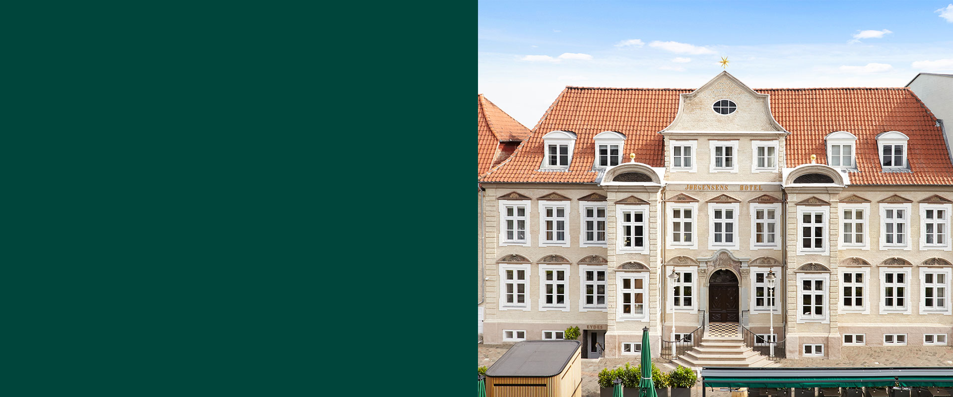 renovering, hotel, Oluf Jørgensen A/S, reference