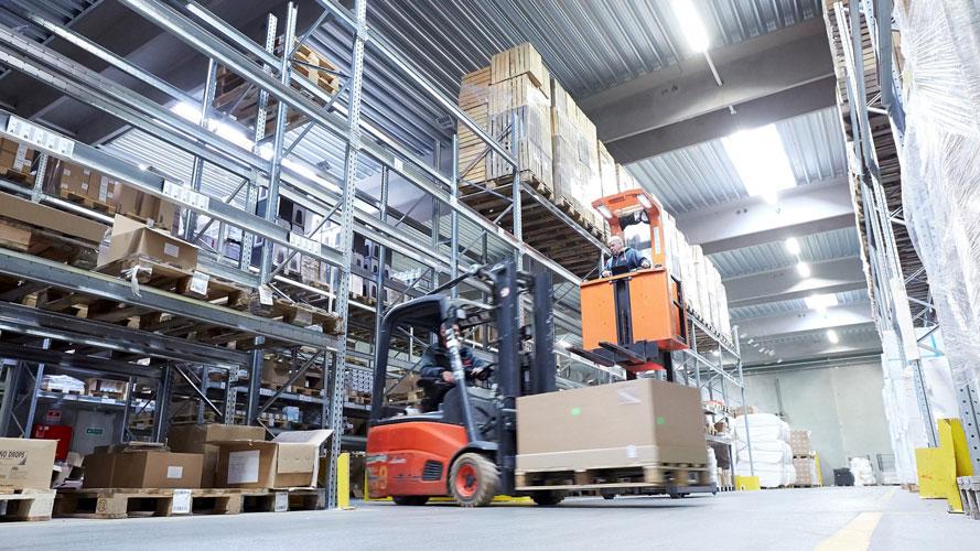 DKI Logistics A/S, industri, reference, Oluf Jørgensen A/S