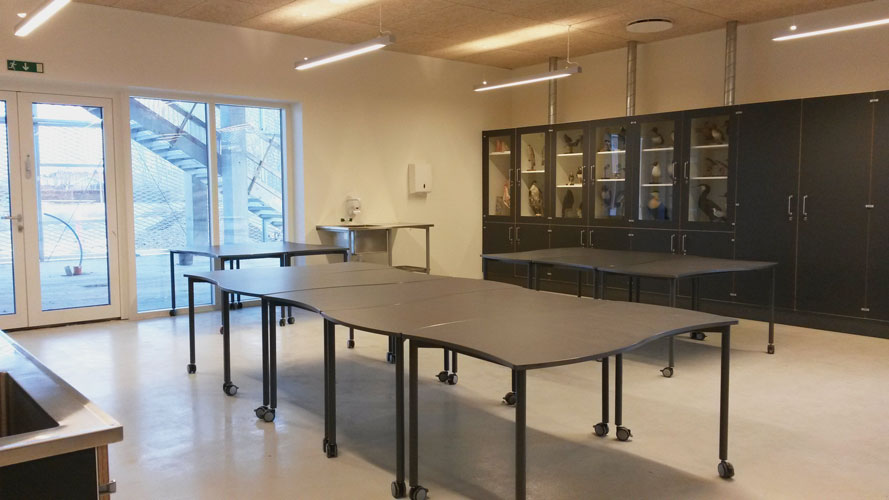 Ny Frederiksberg Skole, reference, Oluf Jørgensen A/S