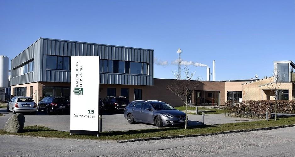 Kalundborg Forsyning A/S, industri, kontor, reference, Oluf Jørgensen A/S