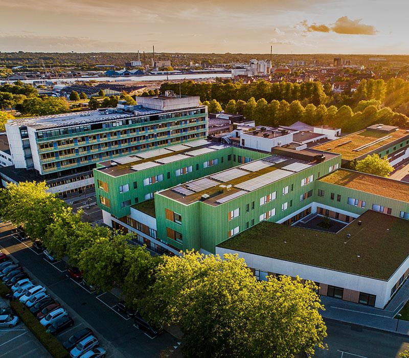 Regionshospitalet Horsens, reference, sundhed, Oluf Jørgensen A/S