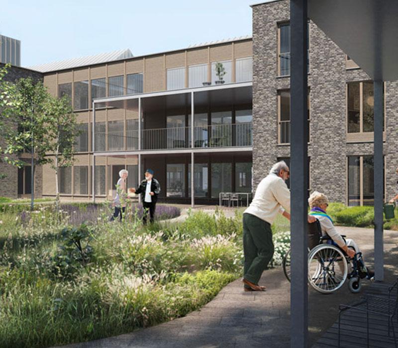 Plejecenter, plejebolig, Oluf Jørgensen A/S