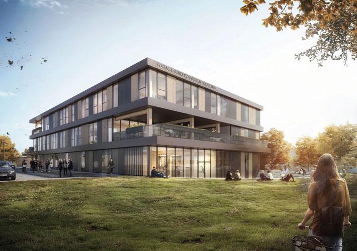 Social-og sundhedsskolen, Holstebro, reference Oluf Jørgensen A/S, konstruktioner, indeklima