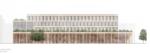 Kernehuset – Nyt rådhus Rødovre kommune, visualisering facade sydøst