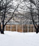 Kernehuset – Nyt rådhus Rødovre kommune, visualisering vinter 2